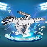 SGILE RC Dinosaur Robot Toy, Smart Programmable
