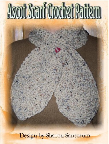 Pull Through Ascot Scarf Crochet Pattern Kindle Edition By Sharon