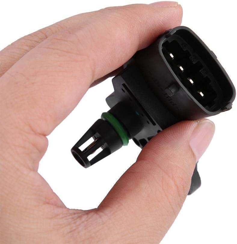 Luftdruckerhöhungssensor Luftdrucksensor Ansaugkrümmer Absolutdrucksensor Für Opel 0281002437 Map Manifold Air Pressure Auto