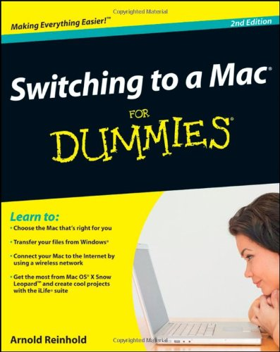 [PDF] Switching to a Mac For Dummies, 2nd Edition Free Download | Publisher : For Dummies | Category : Computers & Internet | ISBN 10 : 0470466618 | ISBN 13 : 9780470466612
