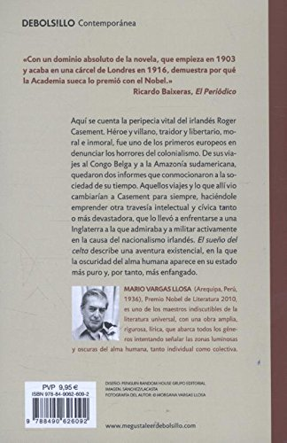 El sueño del Celta / The Dream of the Celt (Spanish Edition): Mario Vargas Llosa: 9788490626092: Amazon.com: Books