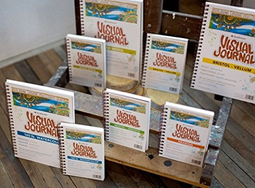 Strathmore 400 Series Visual Drawing Journal 42 Sheets 5.5x8 Medium Surface Wire Bound