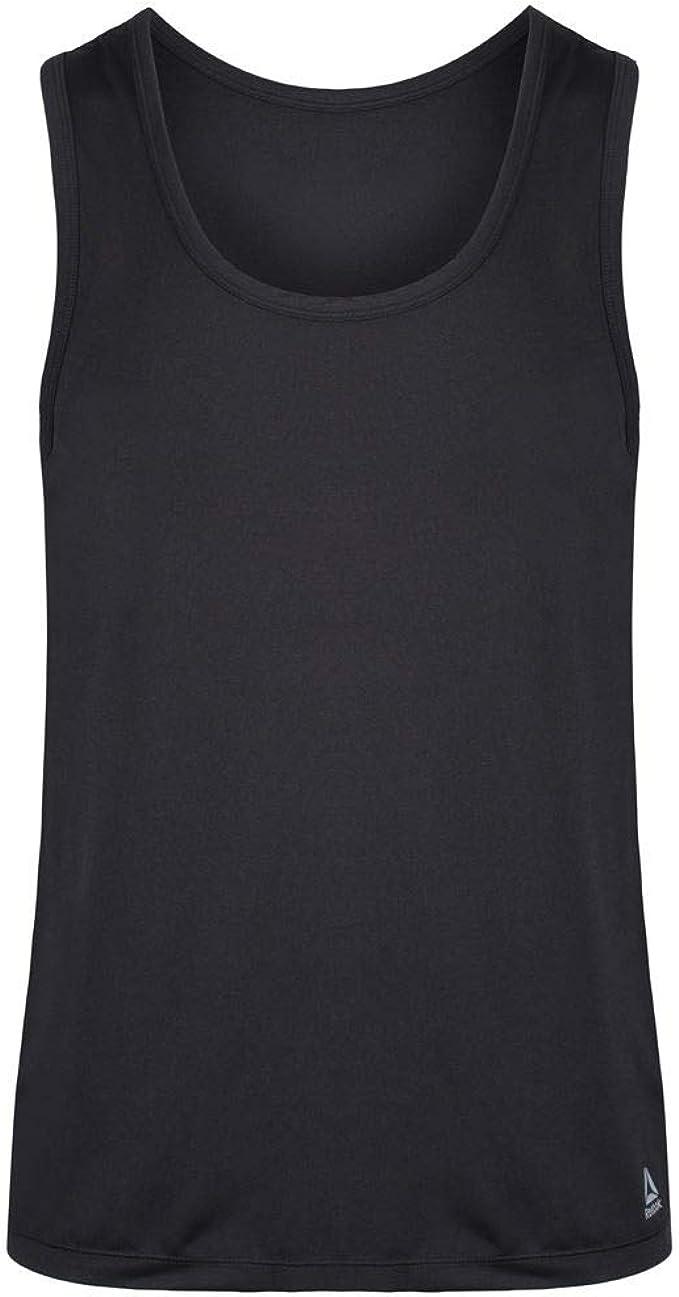 Reebok Viktor Camiseta sin Mangas (Pack de 2) para Hombre: Amazon.es: Ropa y accesorios