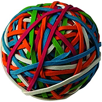 Amazon.com: ACCO 72155 Rubber Band Ball, Approximately 275 ...