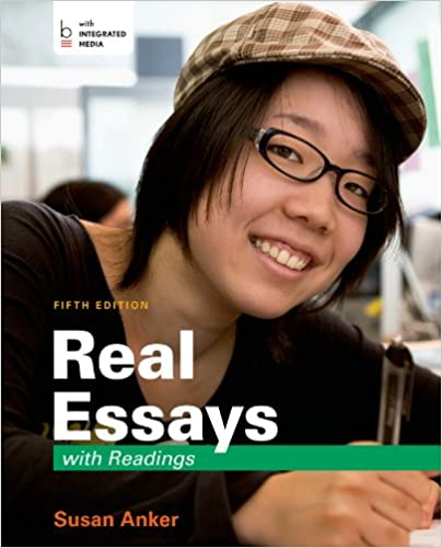amazon com  real essays with readings  writing for success in    amazon com  real essays   readings  writing for success in college  work  and everyday life        susan anker  books