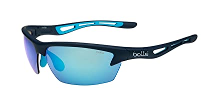 46571d4c7f650 Amazon.com  Bollé Bolt Sunglasses Matte Navy Large Unisex  Sports ...