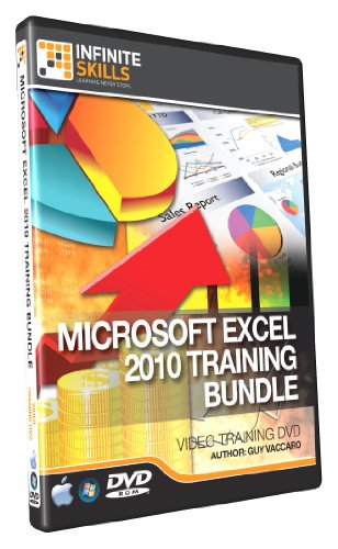 Discounted Microsoft Excel 2010 Training DVD Bundle - Beginners to Advanced (Excel 2010 Program compare prices)