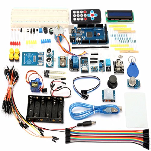 AE Market Mega 2560 Starter Learning Kit With 1602 LCD RFID Relay Motor Buzzer For Arduino