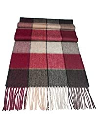Urban Edge Pure wool scarf, mens or womens. Luxurious softness and generous size. Classic design. Men's scarf, women's scarf.