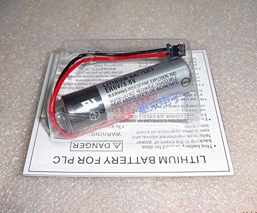 YVZOTCK ®5 PCS 3.6V Battery for Toshiba ER6VC119A Servo Amplifier Controller CNC Mitsubishi M70 ER6V System PLC (Servo Mitsubishi Amplifier)