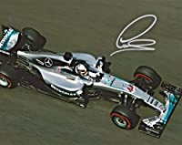 2016 Lewis Hamilton Formula 1 F1 Mercedes Benz Petronas Signed 8x10 Photo (B) - Autographed Extreme Sports Photos from Sports Memorabilia