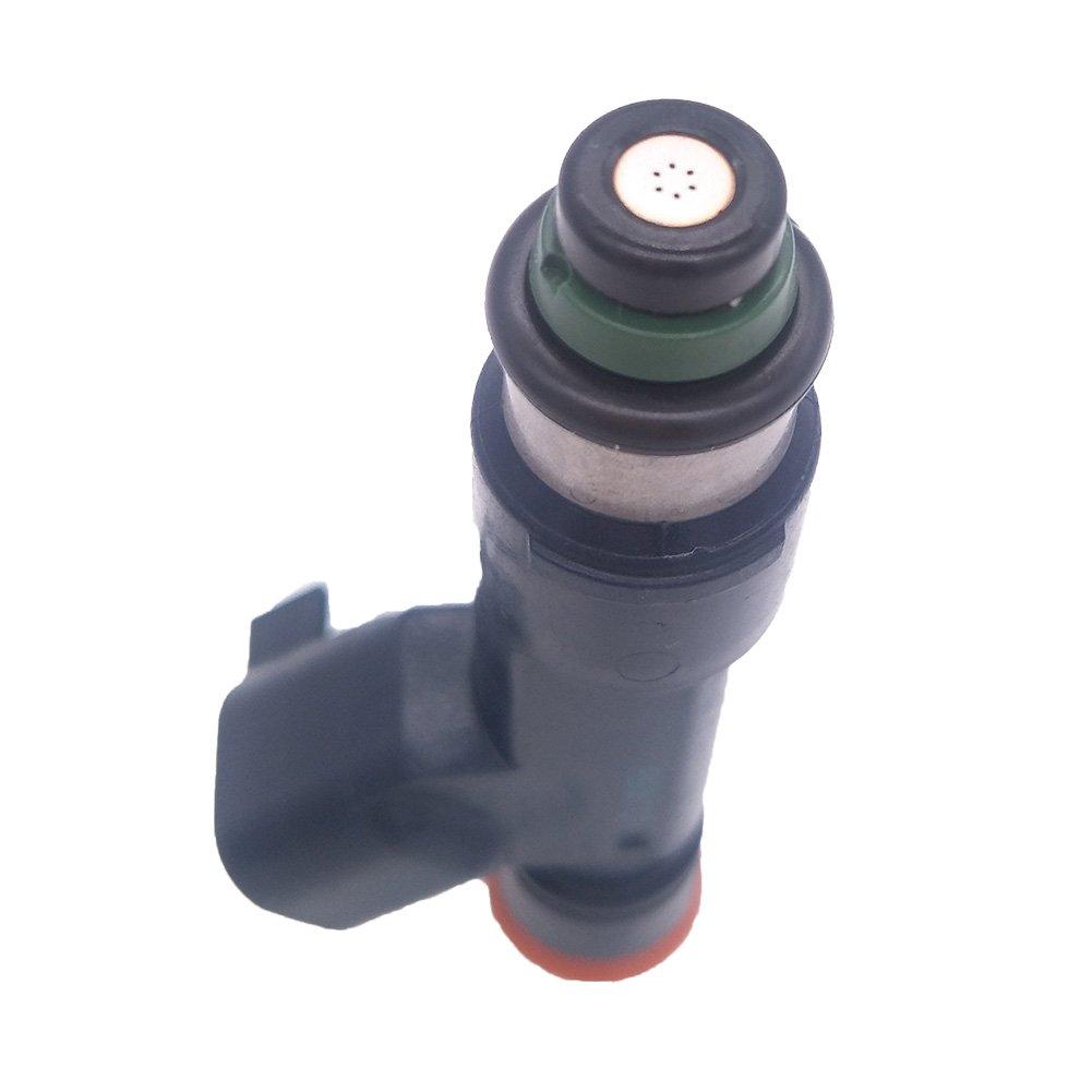 JESBEN 8pcs Set Fuel Injectors 6 Holes Fit For F-150 F-250 F-350 Super Duty 6.2L-V8 2011-2016 AL3E-F7A AL3E-9F593-F7A
