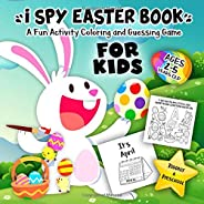 I Spy Easter Book for Kids Ages 2-5: A Fun Activity Happy Easter Things and Other Cute Stuff Coloring and Guessing Game for