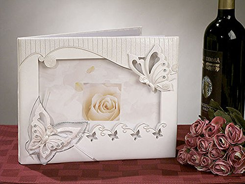CC414 Butterfly Theme Guest Book Wedding Favors & Accessories Butterfly Theme Favors
