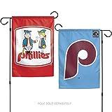Stockdale Philadelphia Phillies RETRO WC 26737117 GARDEN FLAG Premium 2-sided Banner Cooperstown Baseball