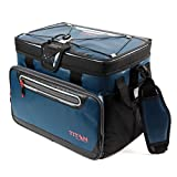 zipperless hardbody cooler - MRT SUPPLY 30 Can Titan Deep Freeze Zipperless Hardbody Portable Cooler, Blue With Ebook