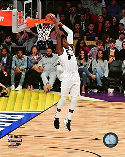 Victor Oladipo Indiana Pacers NBA Slam Dunk Contest Photo (Size: 8