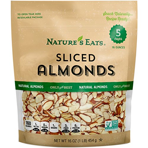 (Nature's Eats Natural Sliced Almonds, 16)