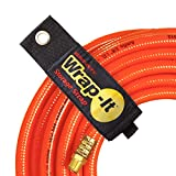 Wrap It Heavy-Duty Storage Straps (6 Piece Variety Pack 2M/2L/2XL) - Hook and Loop Organizer Hanger for Extension Cords, Cables, Hoses, Rope and More for Garage, Home, Shop, Boat and RV Organization