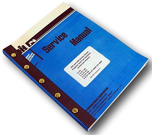- International D Dt-360 Diesel Engine Service Repair Shop Manual Turbo Tractor