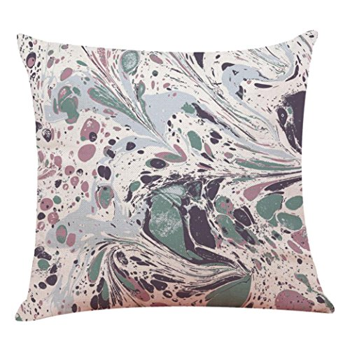 Abstraction Taie d'oreiller, Hunpta Home Decor Housse de coussin Multicolore Abstraction Couvre-lit Taie d'oreiller Taie d'oreiller
