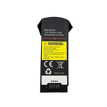 TwoCC Batería de litio de 7.4 V 1000 Mah para repuestos Udi U818A ...