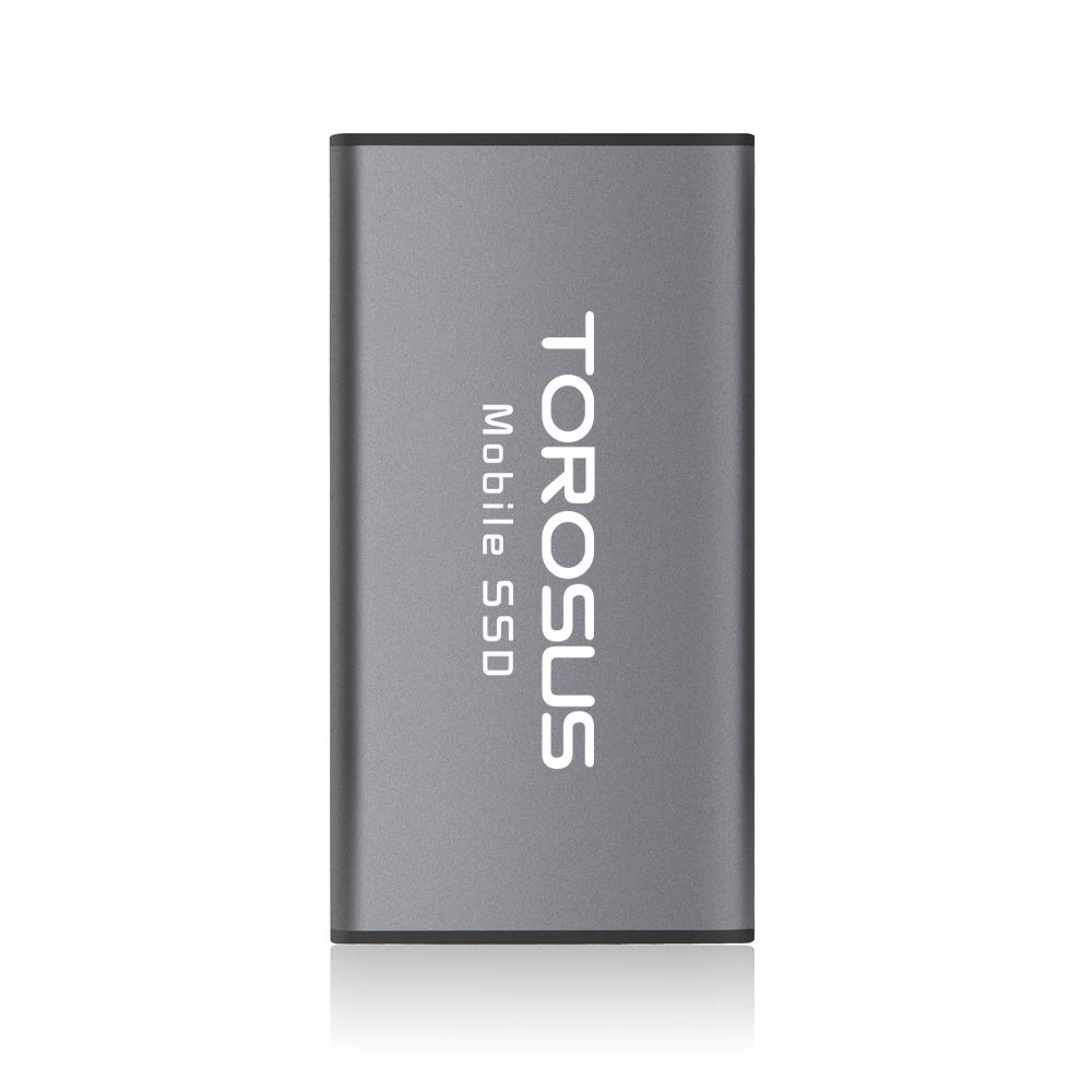 TOROSUS 250gb 500gb External SSD USB 3.0 3.1 Portable Solid State Drive (500GB)