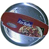 Airbake Natural Large Aluminum Pizza Pan, 15.75in