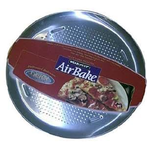 Amazon Com Airbake Natural Large Aluminum Pizza Pan 15