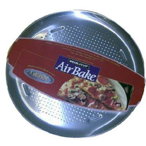 Airbake Natural Large Aluminum Pizza Pan, 15.75in