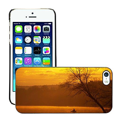 Premio Sottile Slim Cassa Custodia Case Cover Shell // V00002606 Pêche de Kayak un // Apple iPhone 5 5S 5G