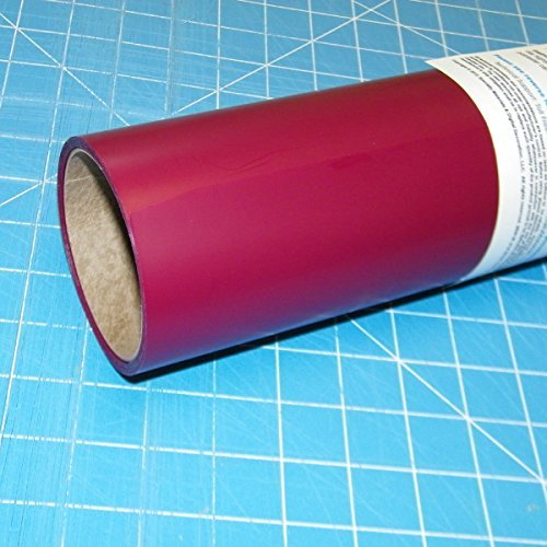 ThermoFlex Plus Maroon 15'' x 3' Iron on Heat Transfer Vinyl by Coaches World