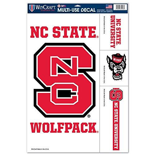 North Carolina State Wolfpack 11'' x 17'' Ultra Decals