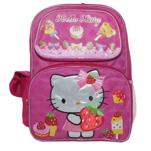 Hello Kitty Yummy Strawberry Backpack Bag ()