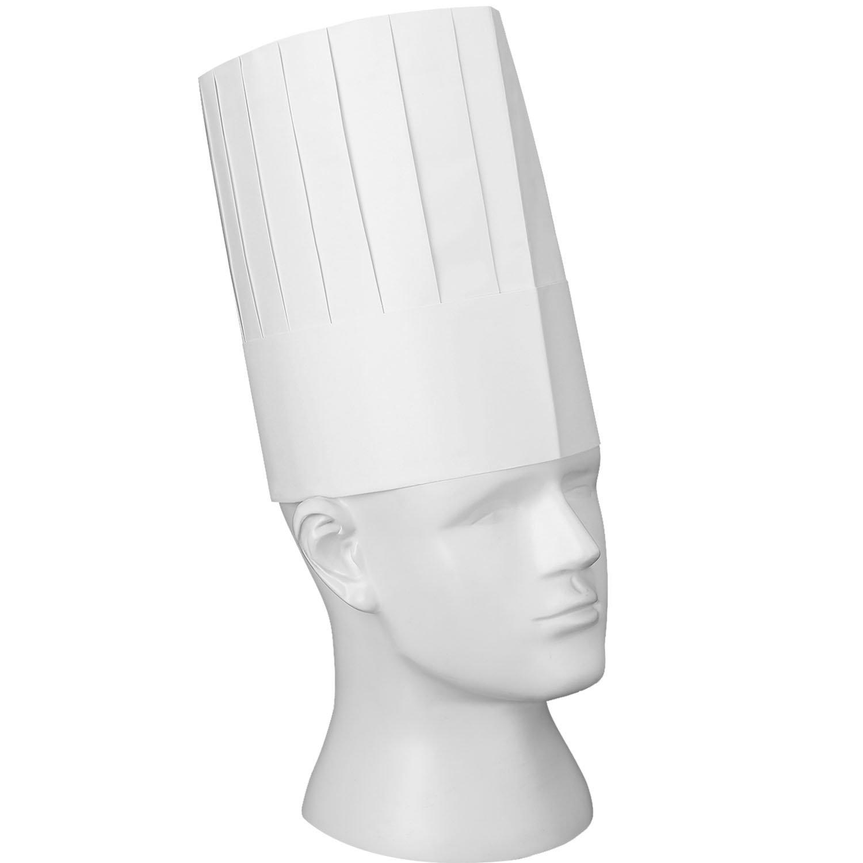 Willbond 12 Packung Einweg 9 Zoll Küchenchef Hut Set Verstellbare ...