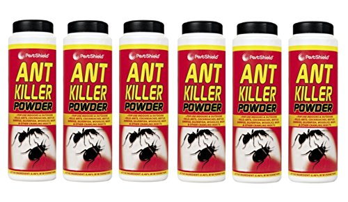 6 x PestShield Ant Killer Powder Crawling Insect Killer Indoor & Outdoor- 240g 151