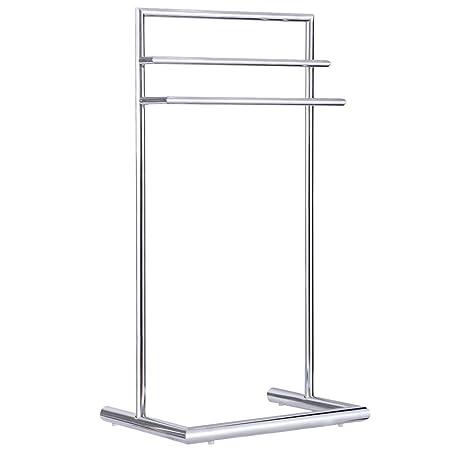 Colibrox 3 Tier Metal Towel Rack Holder Floor Stand Free Standing