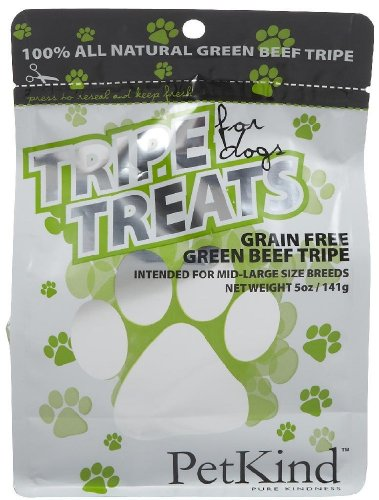 Pet Kind 100% Green Beef Tripe Treats - 5 Oz