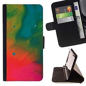 Momo Phone Case / Flip Funda de Cuero Case Cover - Pintura Wallpaper Petróleo Neon Art Dibujo - MOTOROLA MOTO X PLAY XT1562