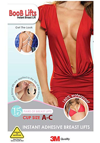 Breast Lifts Tape - Instant Breast Lift Pasties - Boobs Push It Up Bust Shaper Bra Adhesive