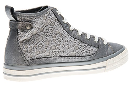 Mustang 1146 507 Baskets Hautes Gris Femme 2 wwxBFdq