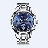 Watches Men Luxury Brand Chronograph Men Sports Watches Waterproof Full Steel Quartz Mens Watch