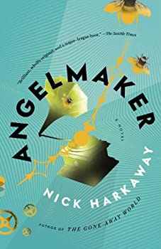 Angelmaker by Nick Harkaway speculative fiction book reviews