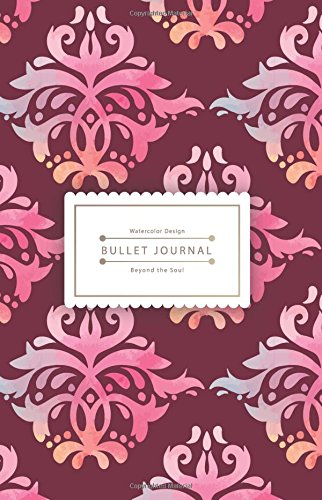 Download Bullet Journal Beyond the Soul: Red Pink Journal - 130 Dot Grid Pages - High Inspiring Creative Design Idea pdf
