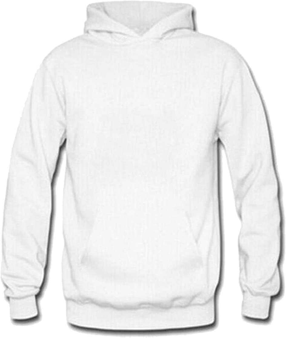 M/&S/&W Mens Hooded Sweatshirt Autumn Solid Color Hoodie with Pocket
