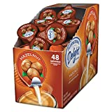 International Delight 02283 Flavored Liquid Non-Dairy Coffee Creamer, Hazelnut 0.4375 oz Cup, 48/Box