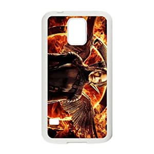 The Hunger Games Samsung Galaxy S5 Cell Phone Case White Z1808152