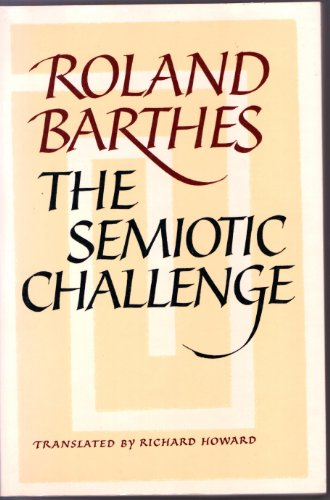 Semiotic Challenge (English and French Edition)