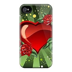 Hot Fashion BOIVIXh489PYdxs Design Case Cover For Iphone 4/4s Protective Case (st Valentine 6)