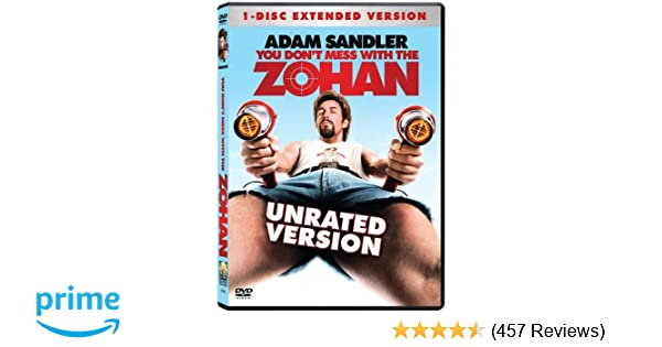 you dont mess with the zohan unrated bluray 1080p
